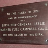 Campbell Plaque.
