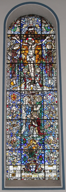 Stained Glass - Scottish tribute to Earl Haig.