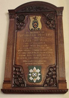 Wavell Plaque